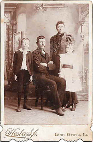 Barney Nilsen Orsland familj