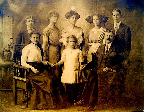 Berthe Johnsdatter familj