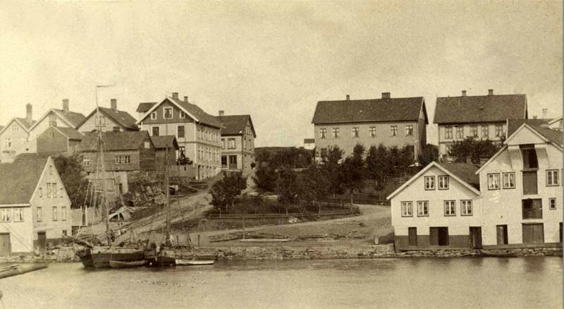 Hamnen 1890